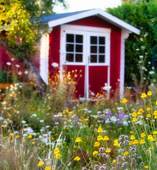 Garten vom Landleben