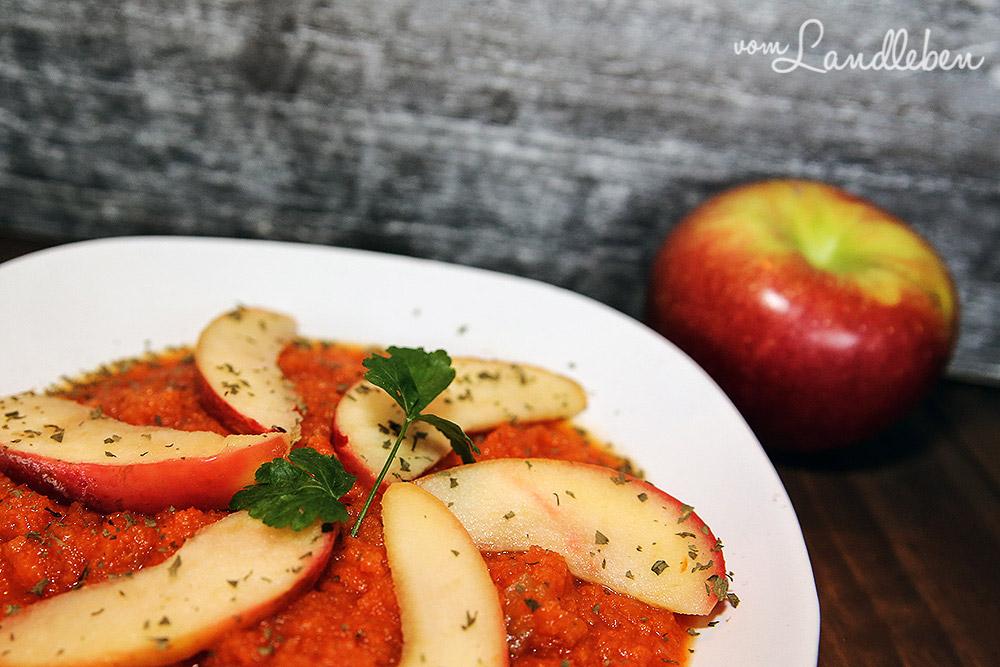 Rezept: Möhren-Apfel-Suppe