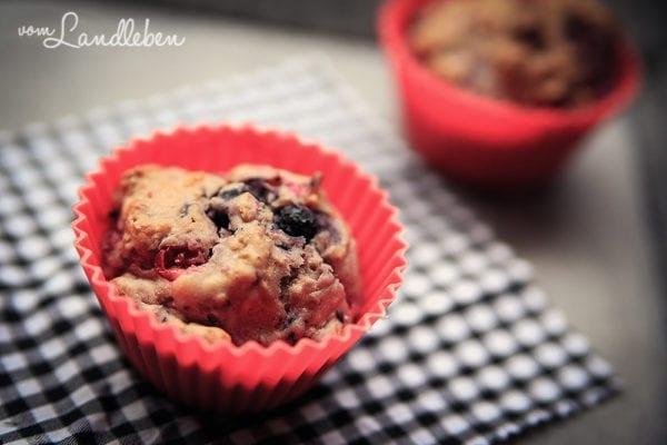 Rezept: Beeren-Muffins light