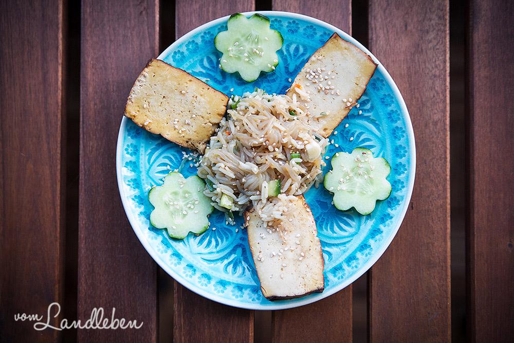 Rezept: Shirataki-Reis-Salat