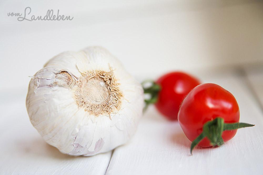 Knoblauch & Tomaten