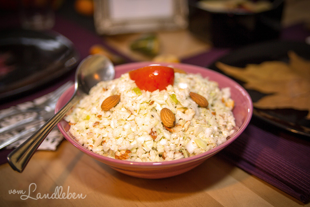 Rezept: Nussiger Weißkohlsalat
