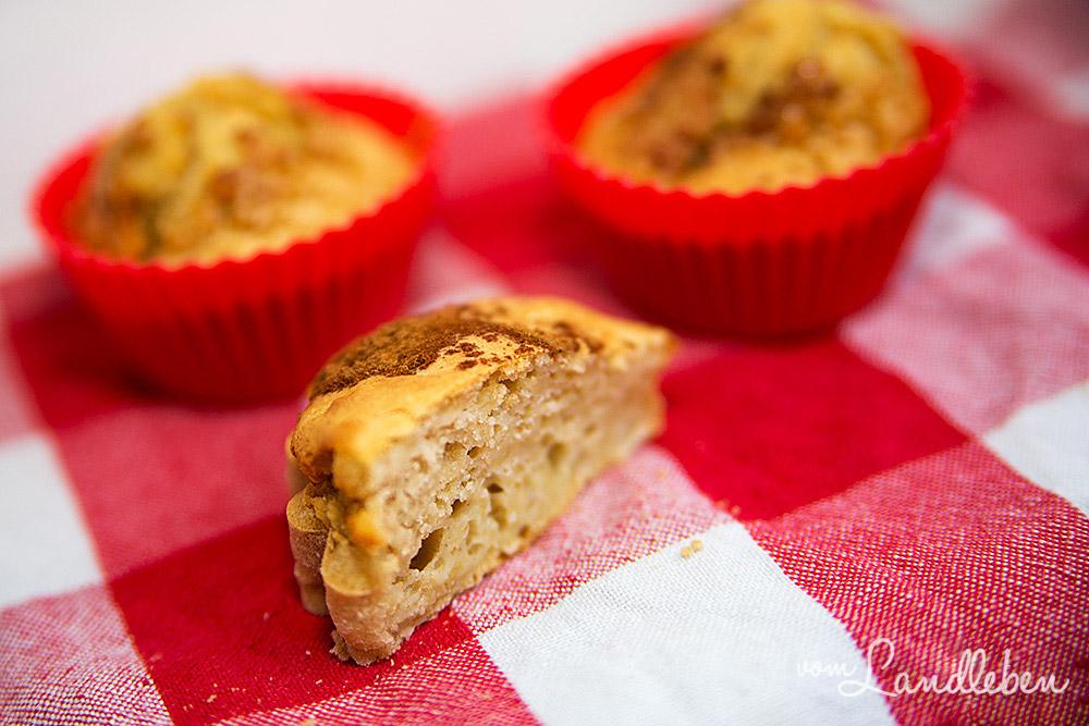 Rezept: Apfelmuffins mit Zimt