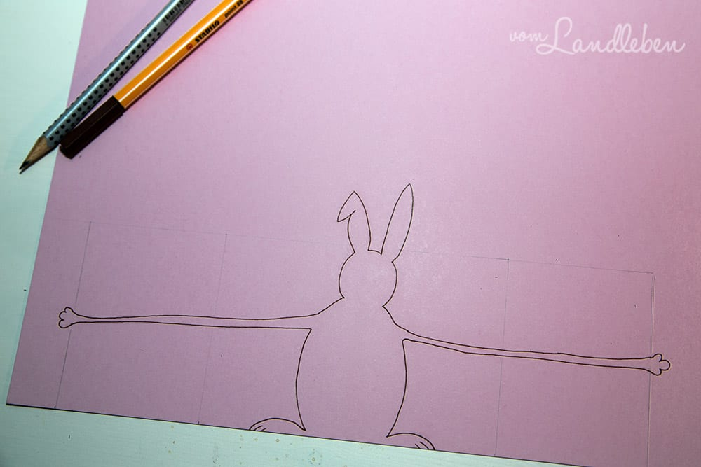 DIY: Oster-Karte mit Hase