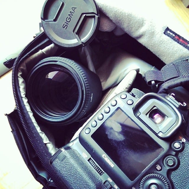 #mpndd15 - Kameratasche