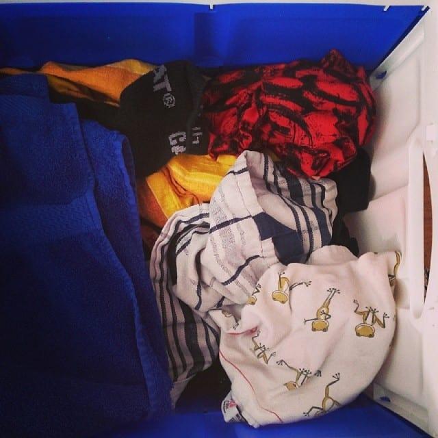 #pmdd15 - Wäsche wegräumen