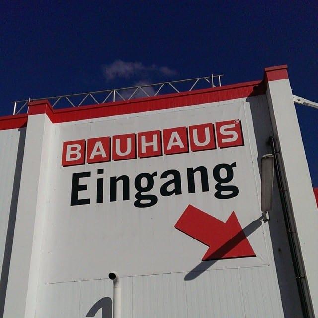 #pmdd15 - Einkaufen bei Bauhaus