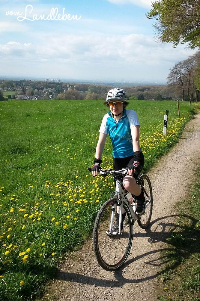 Radtour von Leverkusen ins Bergische Land