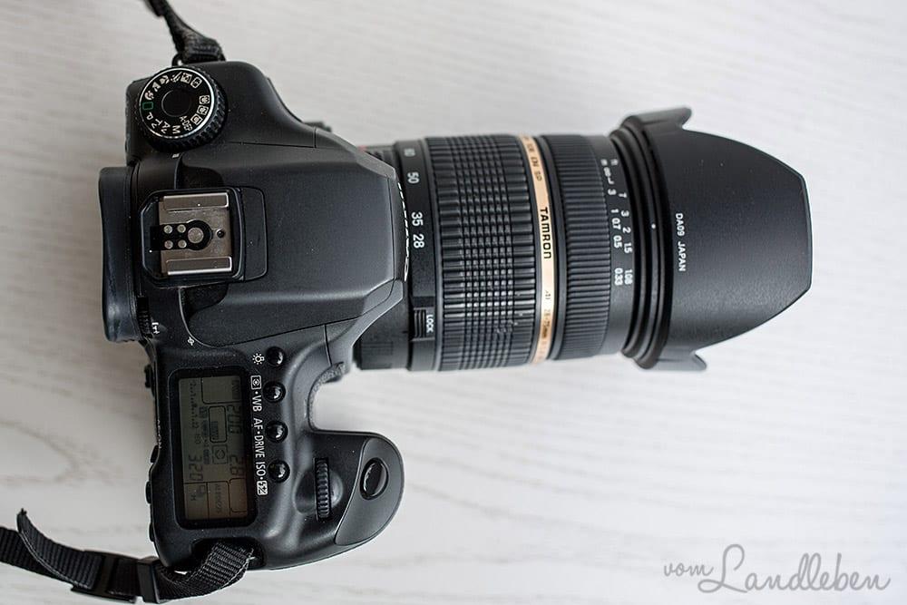 Objektiv: Tamron 28-75mm f/2.8