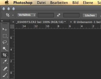 Photoshop: Freistellungswerkzeug