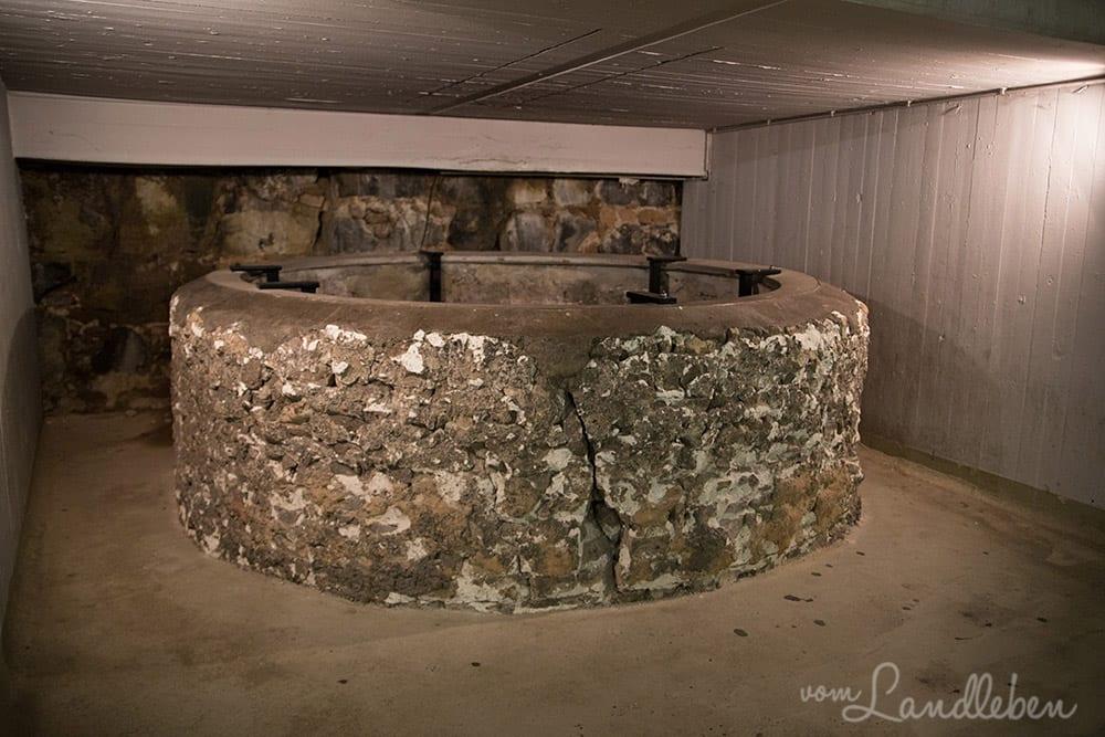 Brunnen aus dem frühmittelalterlichen Vorgängerbau des Doms