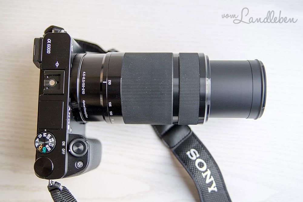 Sony alpha 6000 mit SEL-55210