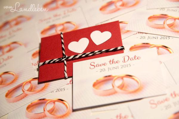 """Unsere Verlobung - """"Save the Date""""-Karten für die Hochzeit"""