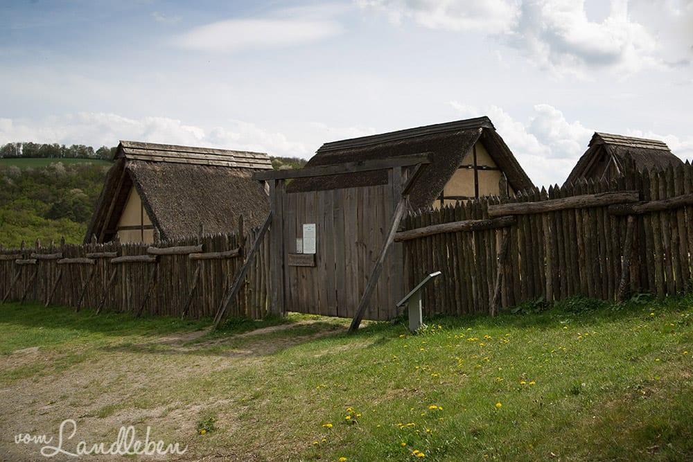 Keltendorf Altburg