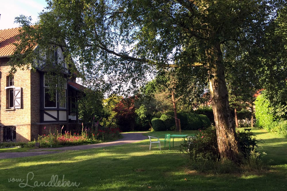 Hochzeitsreise nach Brügge- Villa de Loof 1901