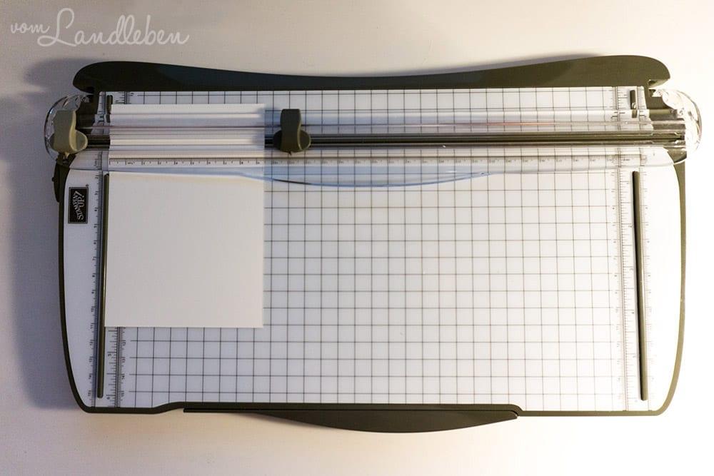 Mein Bastelequipment - Stampin Up! Papierschneider