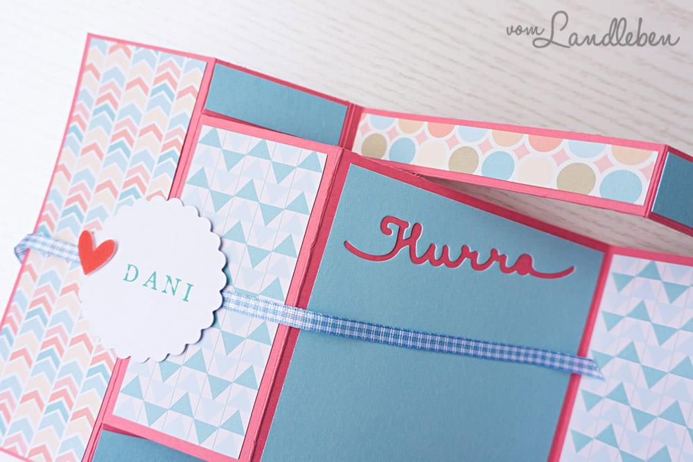 Tri Shutter Card - Geburtstagskarte
