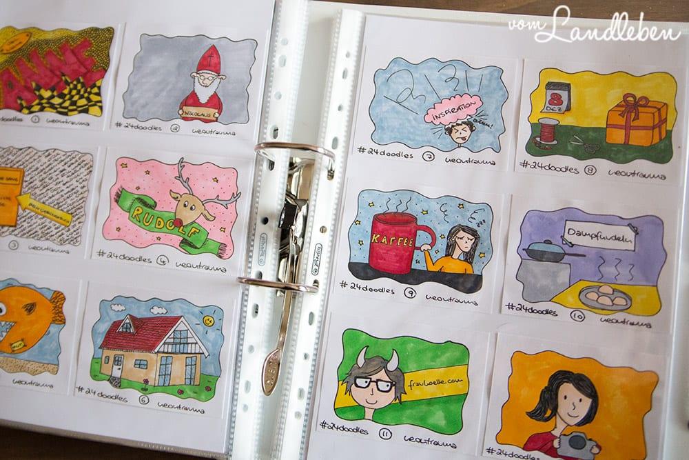 #24doodles – Sketchnote-Adventskalender
