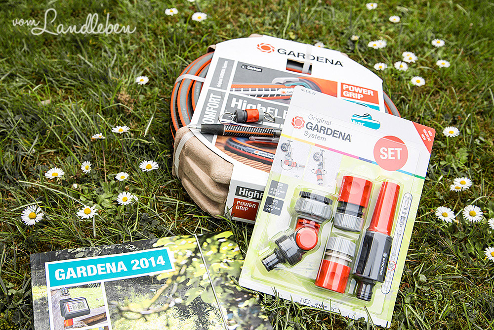 Gardena-Gartenschlauch Comfort HighFLEX mit Zubehör-Set