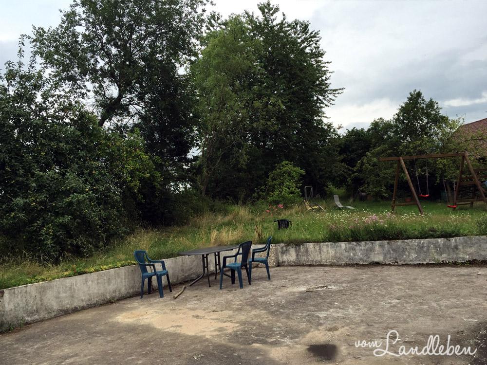 Unser Grundstück - Juli 2015