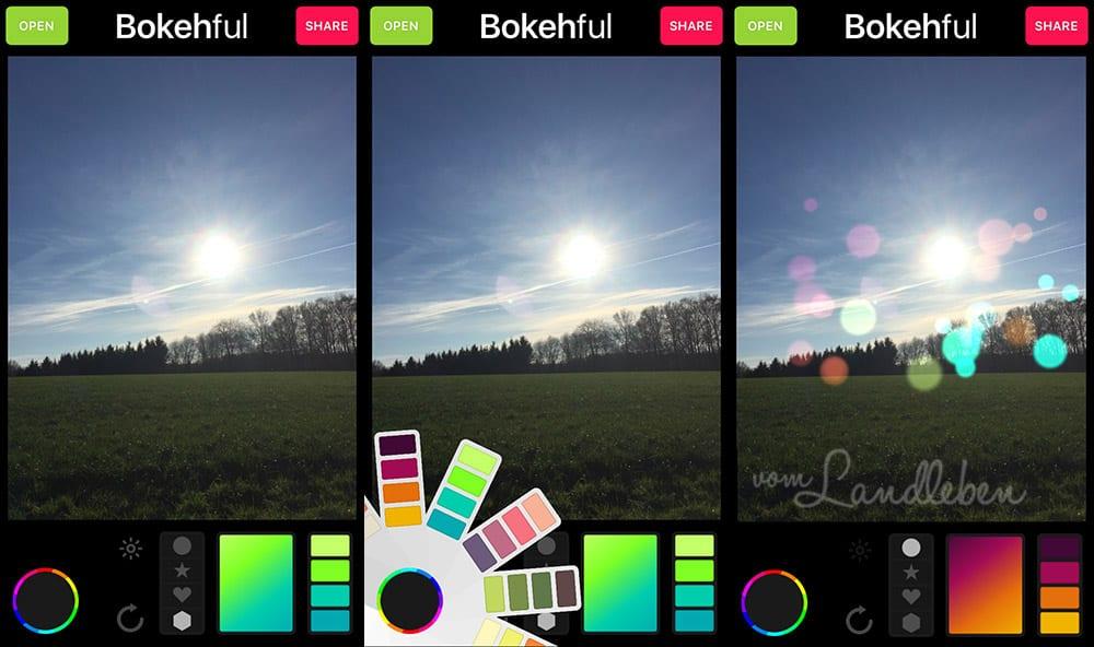 Foto-App für das iPhone: Bokehful