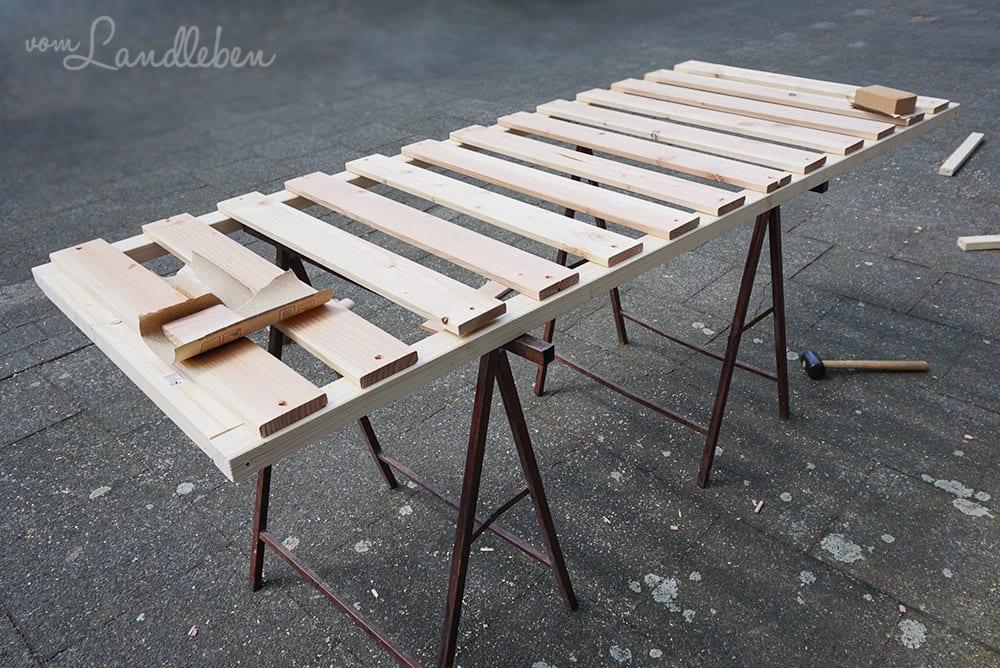 DIY-Lattenrost