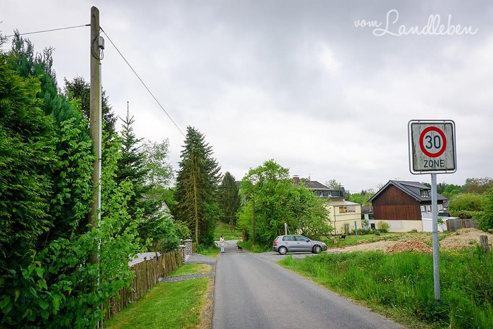 Unser Grundstück - Mai 2016