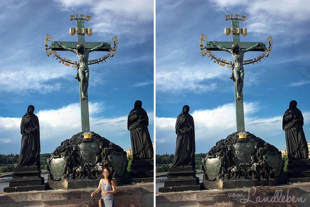 Bildretusche – Karlsbrücke in Prag