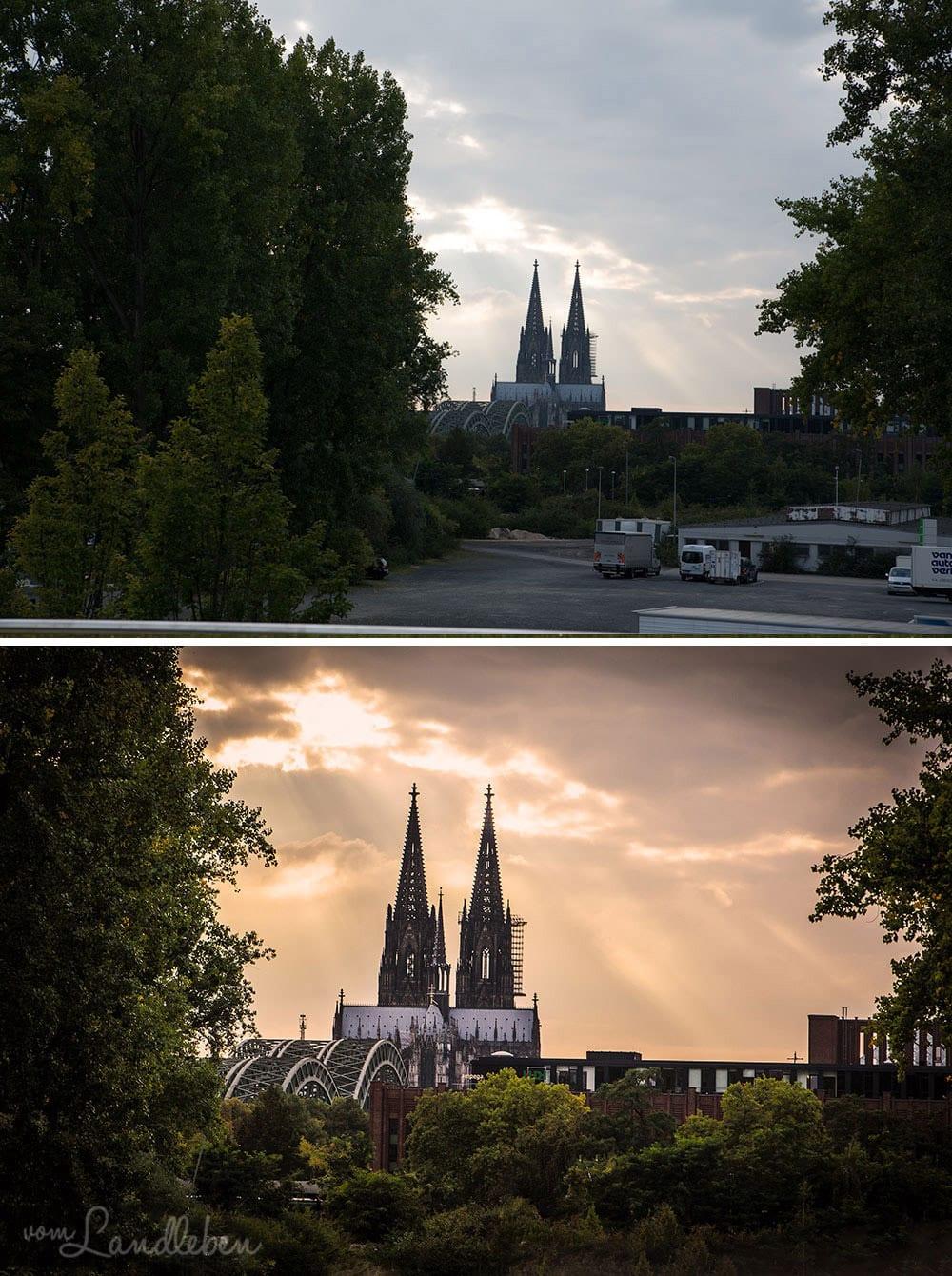 Bildretusche: Kölner Dom