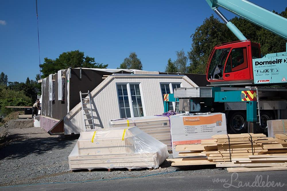 Unser Danhaus - der Richttermin | Projekt Hausbau
