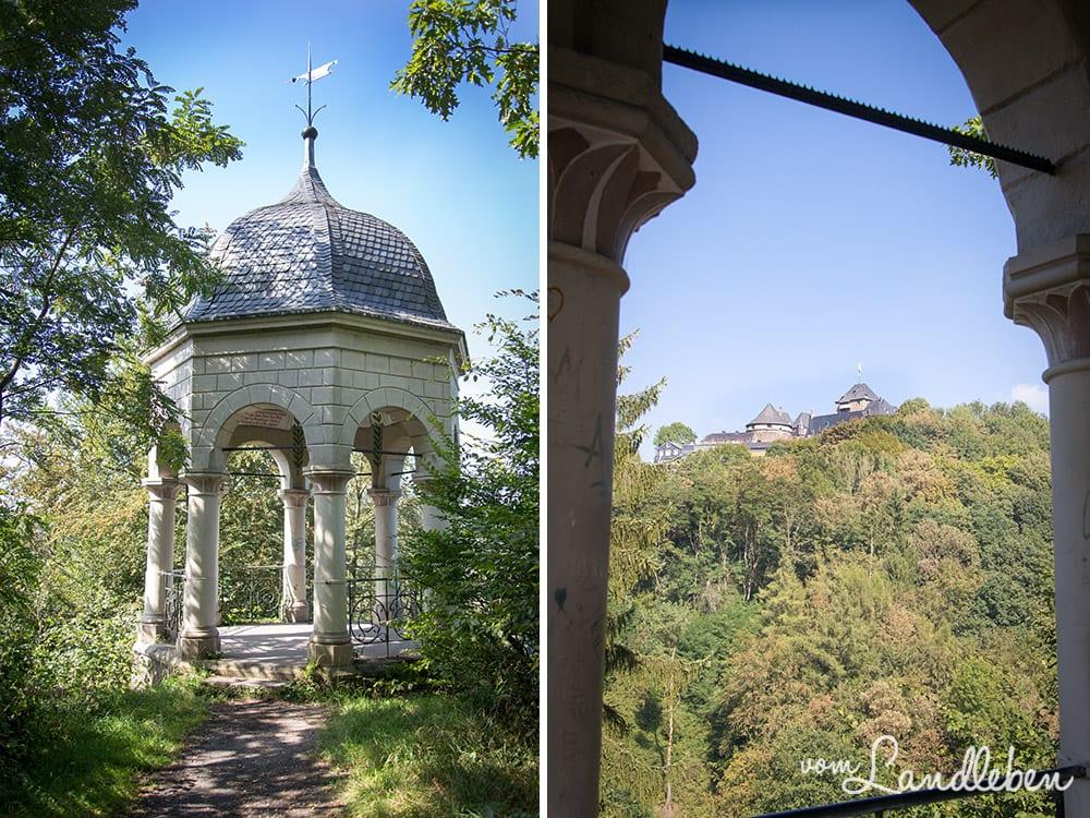 Der Diederichs-Tempel wurde 1896 errichtet und nach seinem Stifter August Diederichs benannt