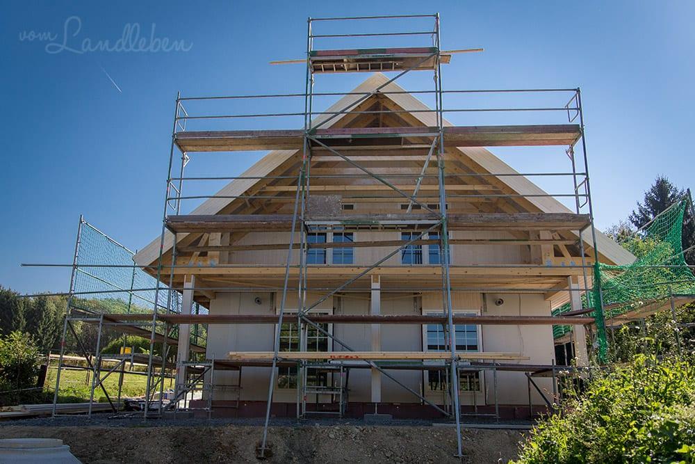 Hausbau mit Danhaus – unsere Baustelle