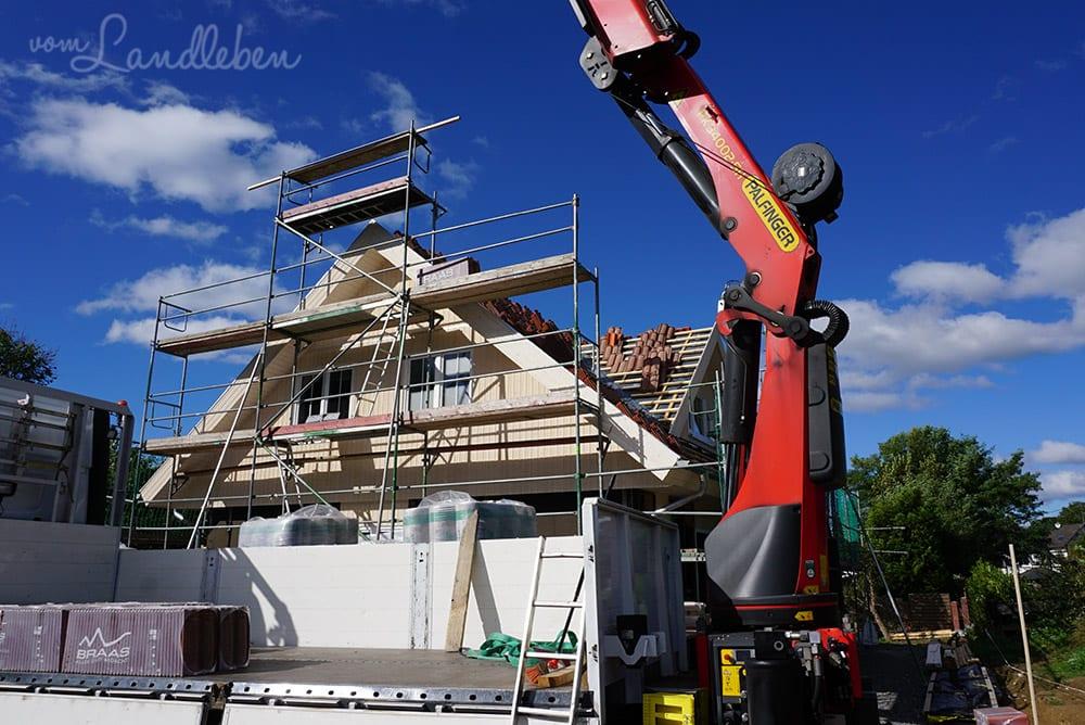 Hausbau mit Danhaus: Dachziegel