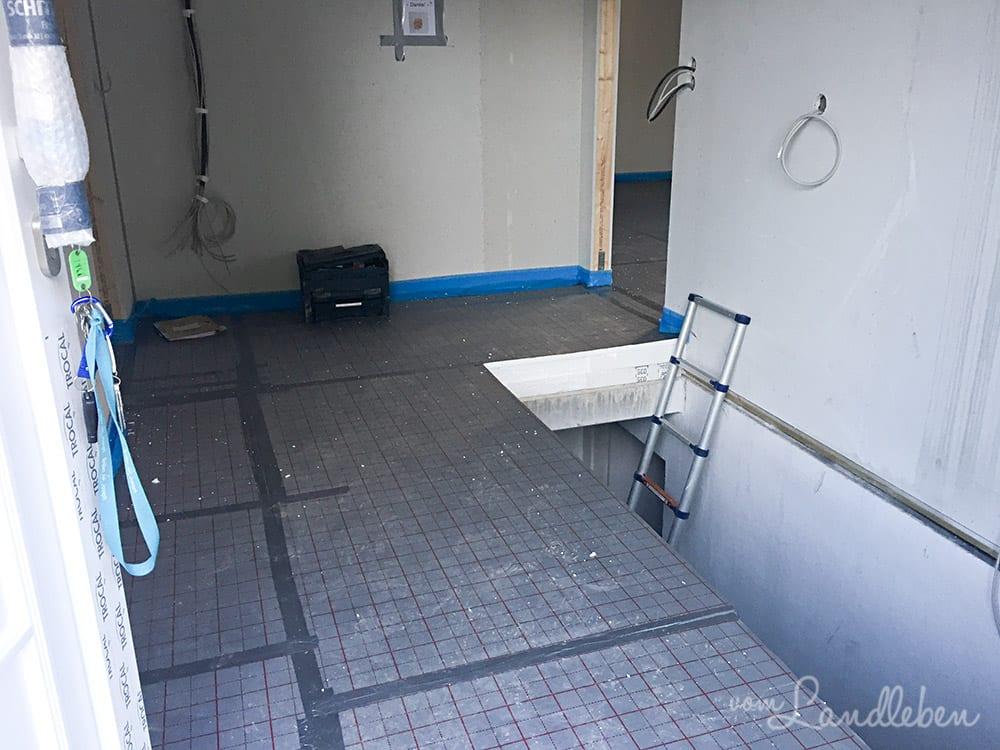 Dämmung Fußboden Estrich ~ Fußbodenheizung garagenfundament vom landleben
