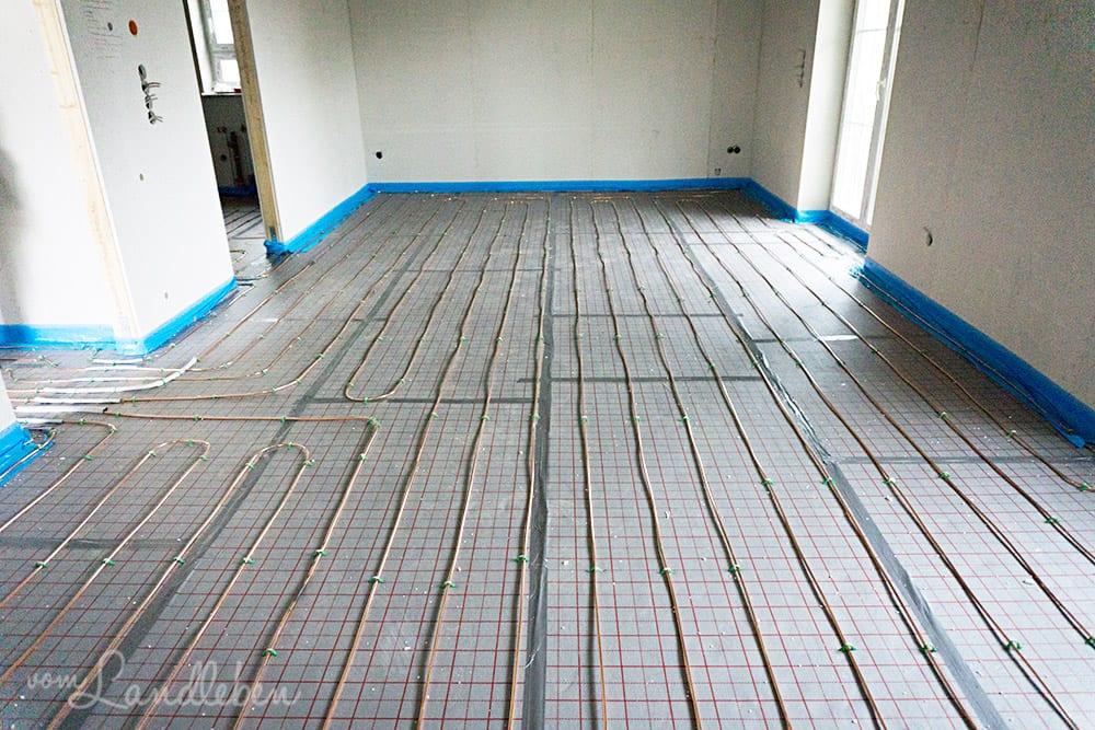 Hausbau mit Danhaus: Fußbodenheizung