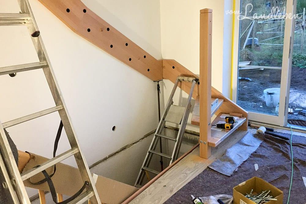 Hausbau mit Danhaus: Treppe von Derstappen