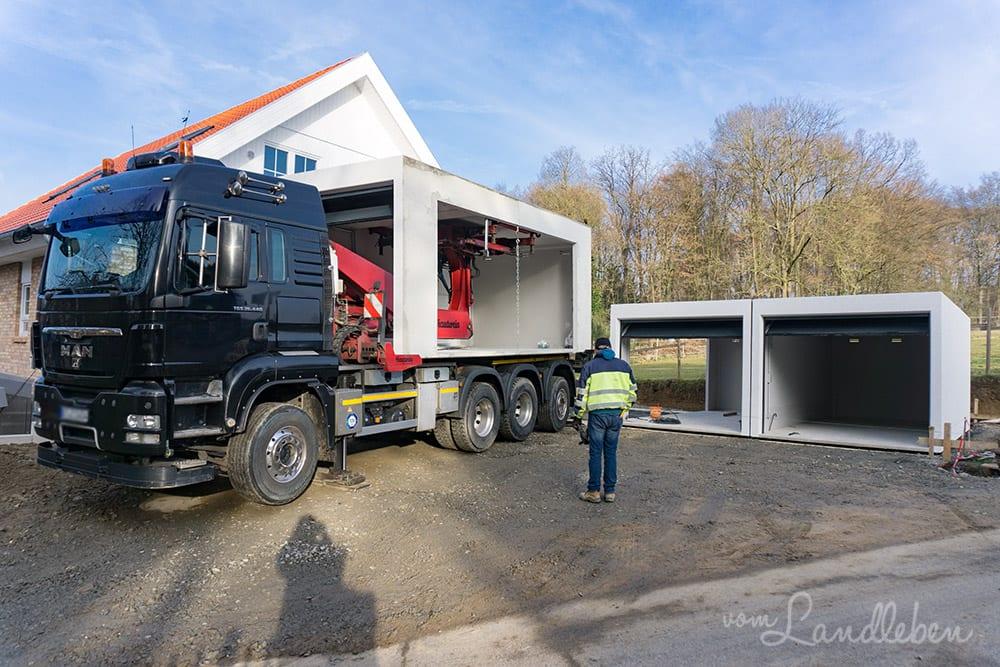 Unsere Garage: Fertiggarage von Zapf   vom Landleben
