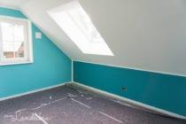 Hausbau mit Danhaus: Tapezieren & Streichen