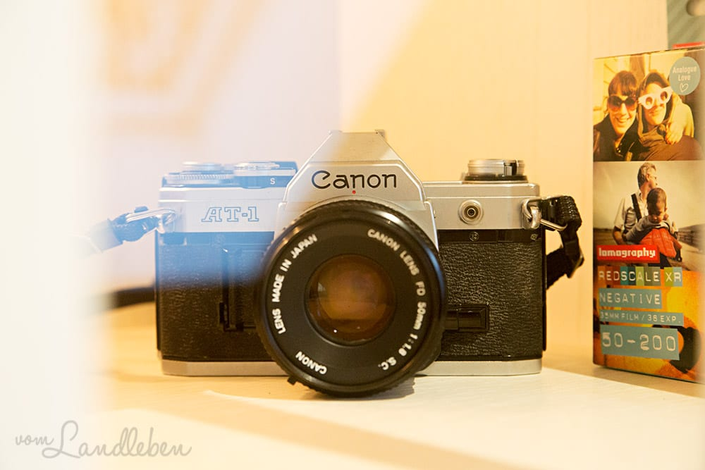 Die Canon AT-1 von 1976