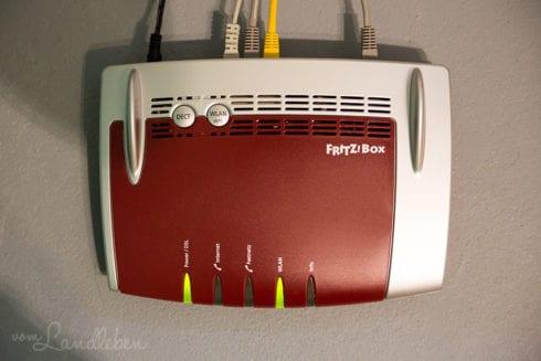 FritzBox - Wir haben Internet