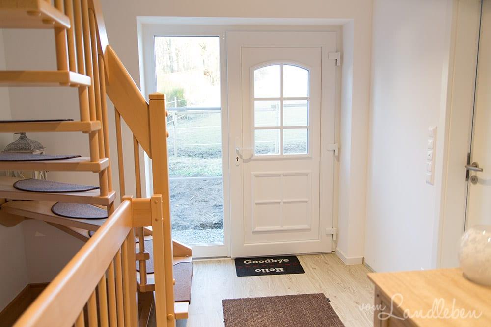 Roomtour in unserem Danhaus: Diele und Treppe