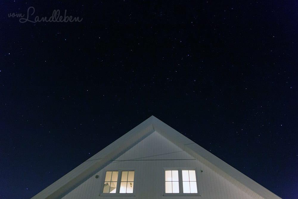 Sternenhimmel über unserem Danhaus