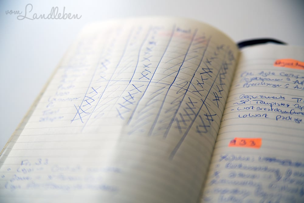 Bullet Journaling für Pragmatiker - ohne Lineal