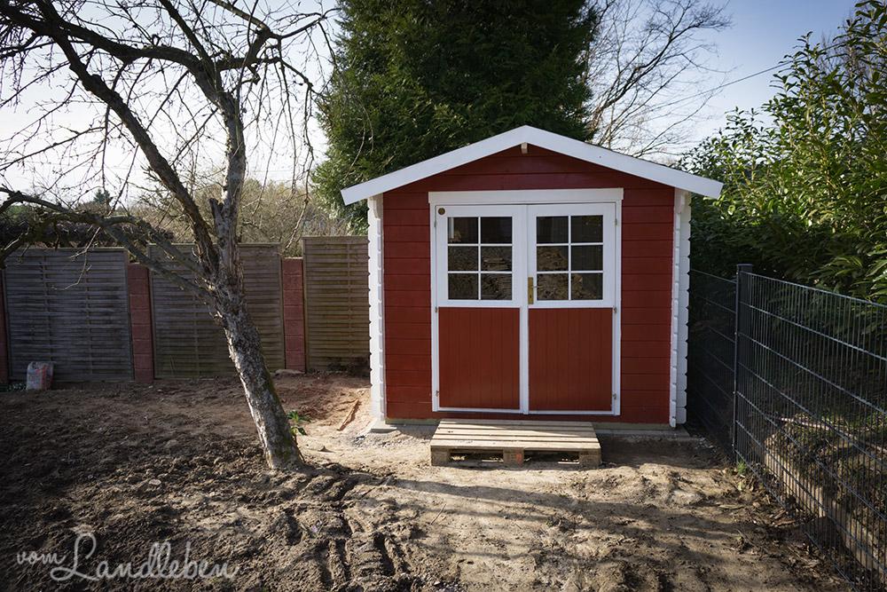 Skandinavisches gartenhaus  Unser Gartenhaus im skandinavischen Stil | vom Landleben