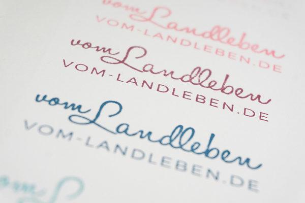 Logostempel für meinen Blog