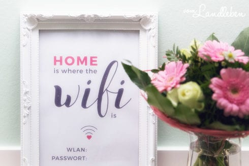 Printable: Home is where the Wifi is