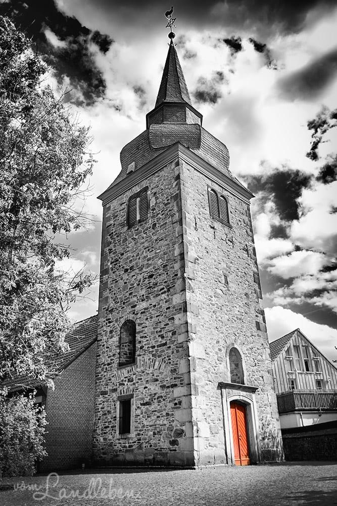 Der alte Hennefer Kirchturm