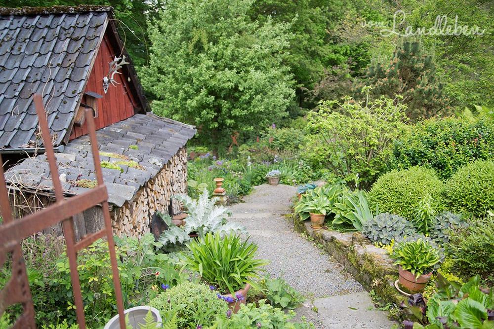 Hof Tüschenbonnen - ein Garten im Bergischen Land