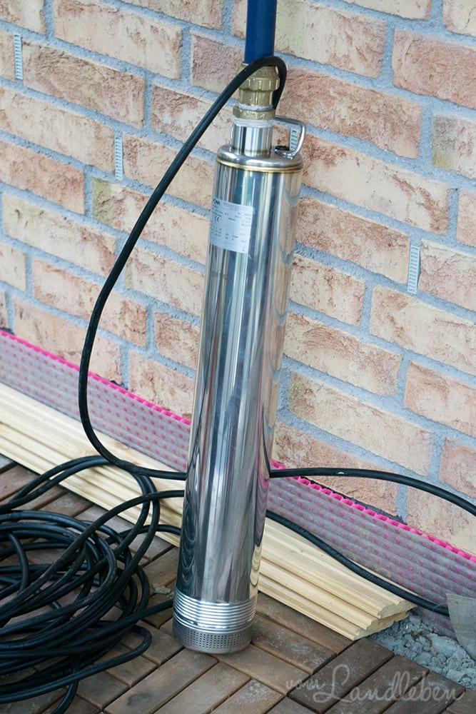 Reinwasser-Tauchmotorpumpe