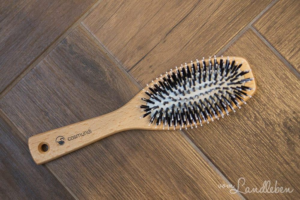 Vegane, nachhaltige Haarbürste